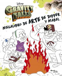 Gravity Falls. Megalibro de arte de Dipper y Mabel